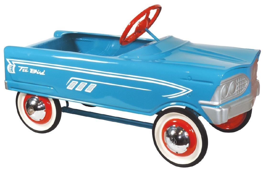 """Children's pedal car, Murray """"Tee Bird"""", painted"""