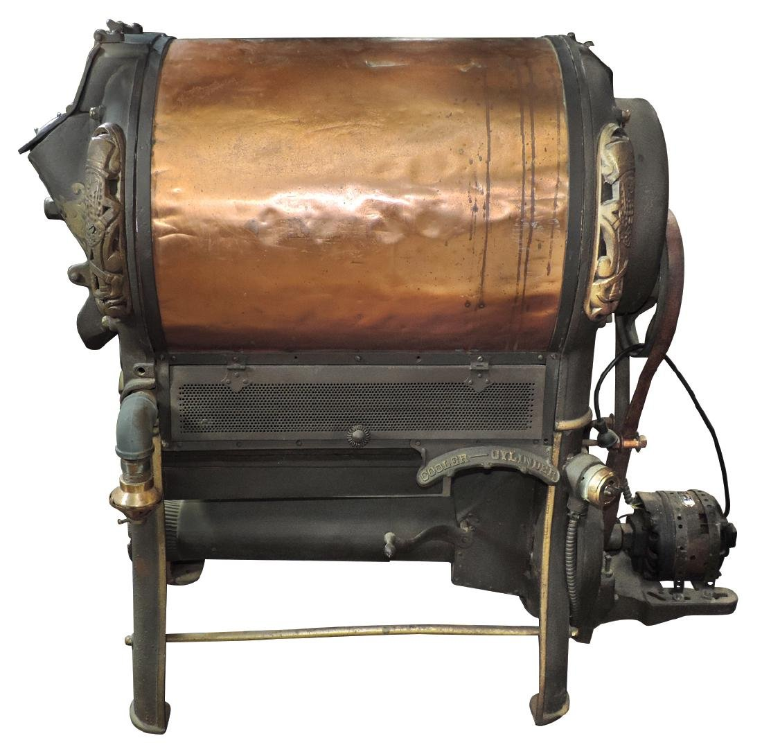 Country store peanut roaster, Planters, Rare, copper - 3