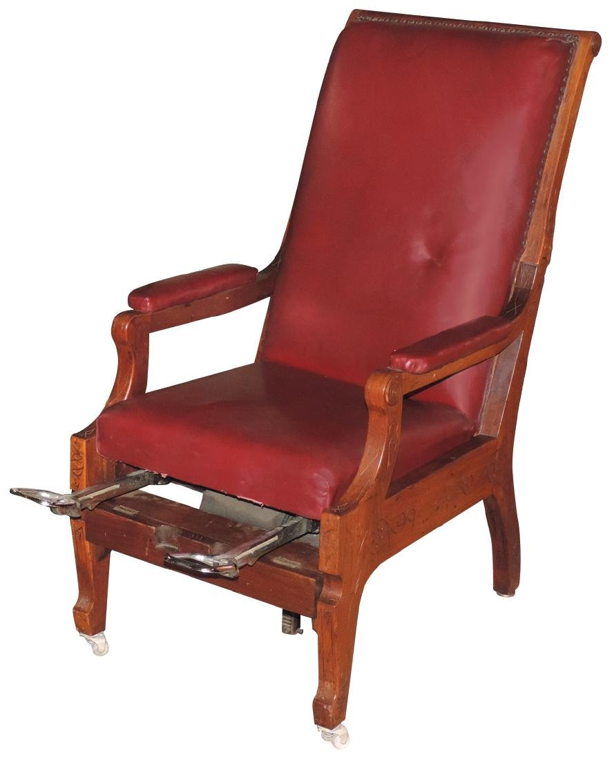 Physician's chair, Geo. W. Archer & Co.-Rochester,