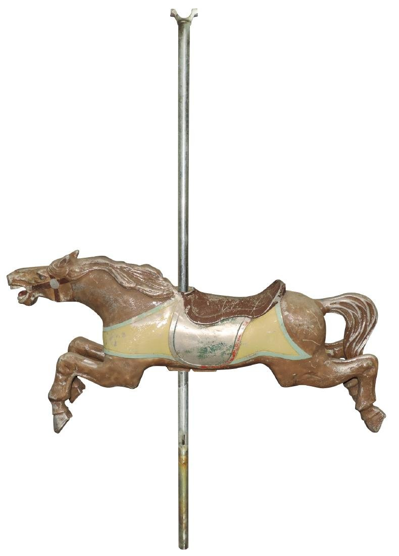 Carousel horse, mfgd by Theel Manufacturing