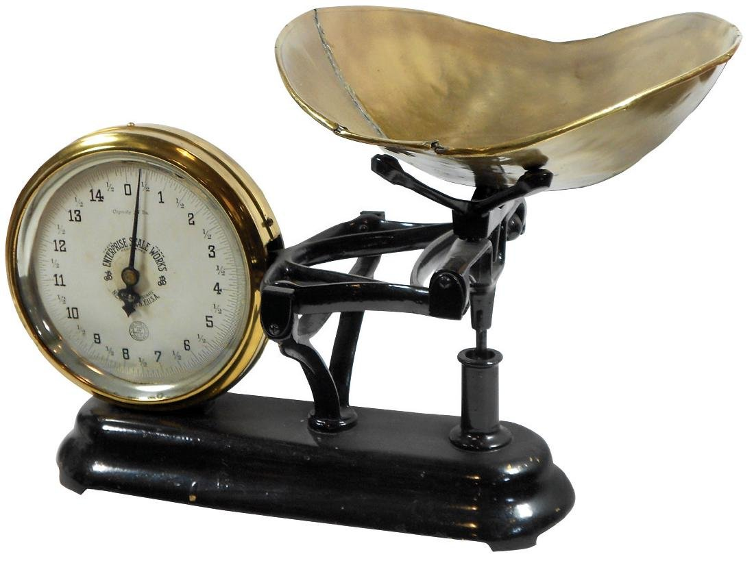 Country store scale, Enterprise Scale Co., Type 33,