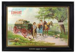 Country store advertising sign, The Hickman-Ebbert