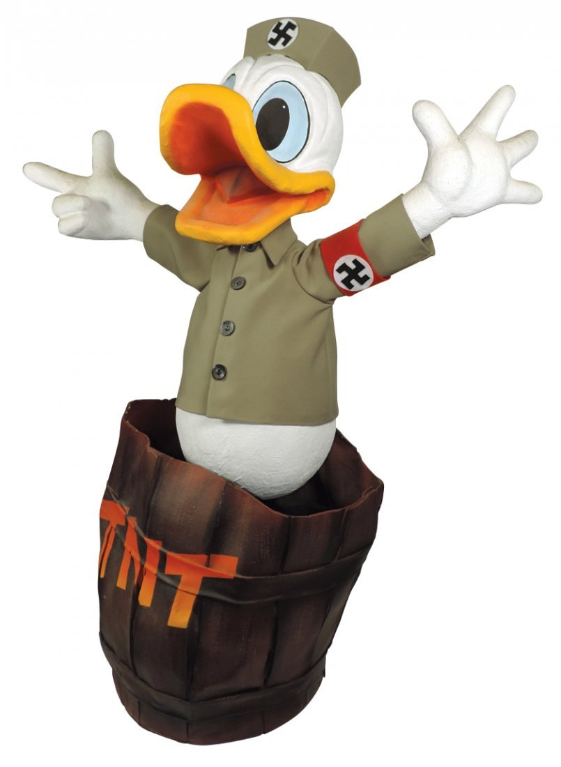 Disney automaton, Nazi Donald Duck, believed to be a
