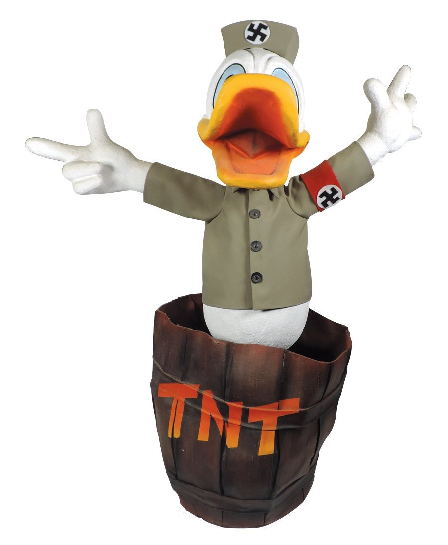 Disney automaton, Nazi Donald Duck, believed to be a - 2