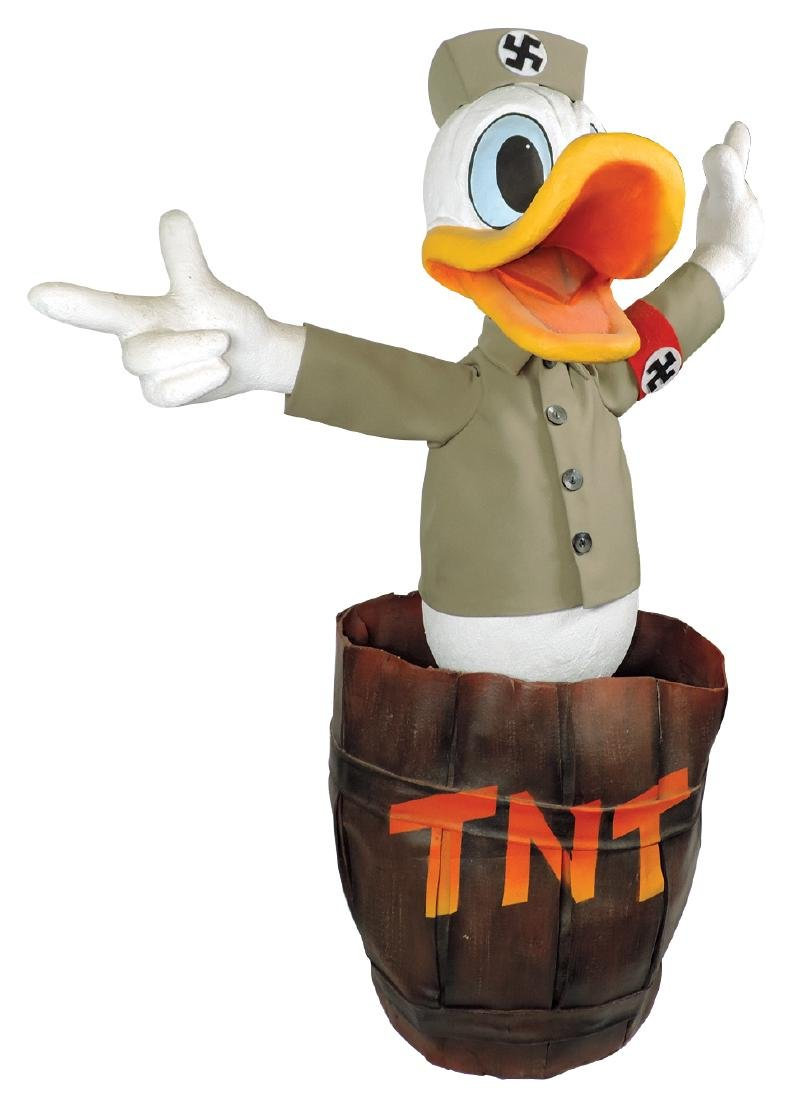 Disney automaton, Nazi Donald Duck, believed to be a - 3