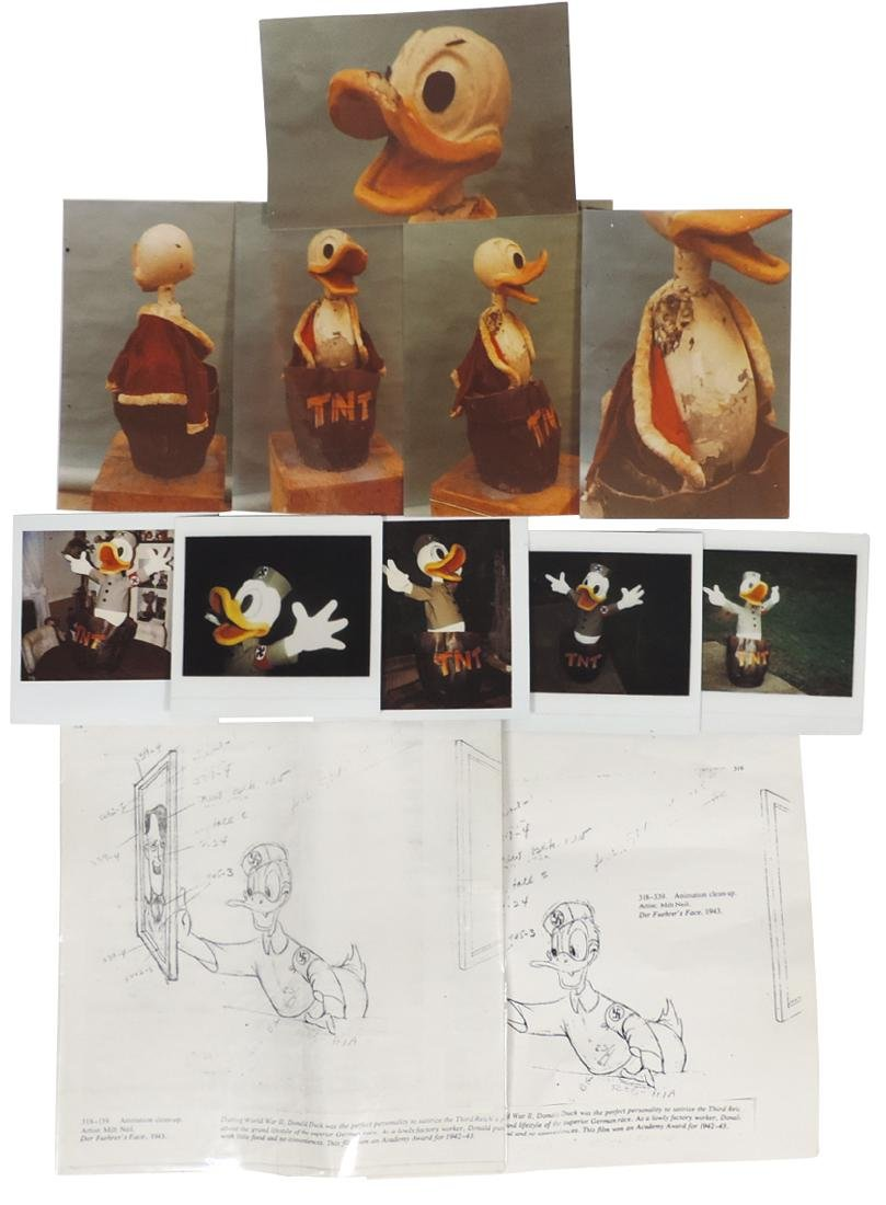 Disney automaton, Nazi Donald Duck, believed to be a - 4