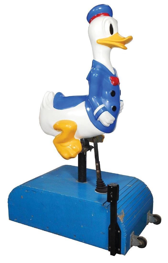 Donald Duck Kiddie Ride, professionally restored