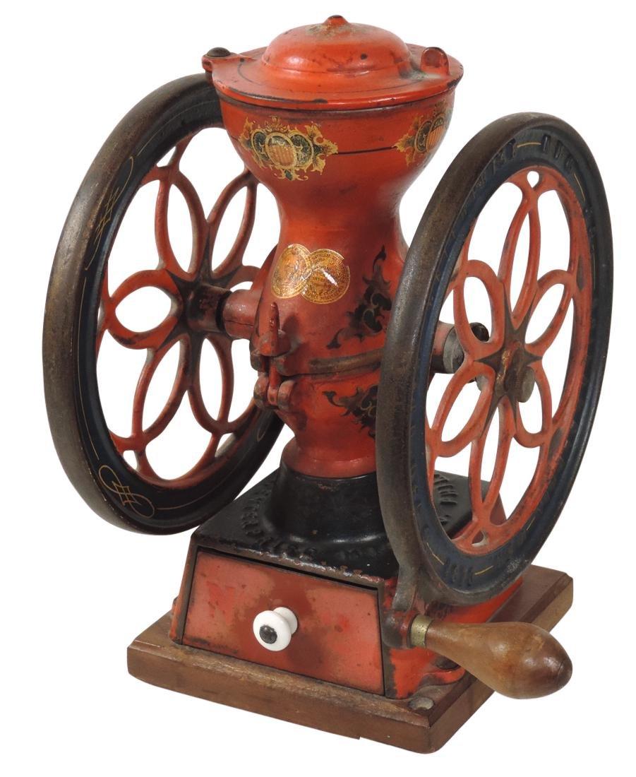 Country store coffee grinder, Enterprise Mfg