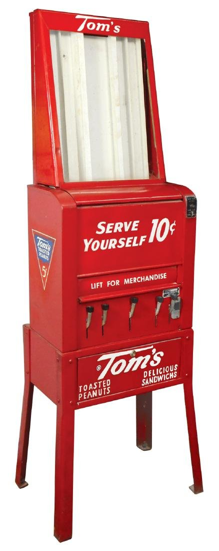 Coin-operated vending machine, Tom's Peanuts &