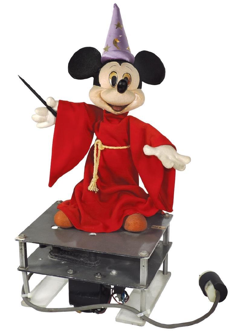 """Disney automaton, Mickey Mouse as """"The Wizard"""","""