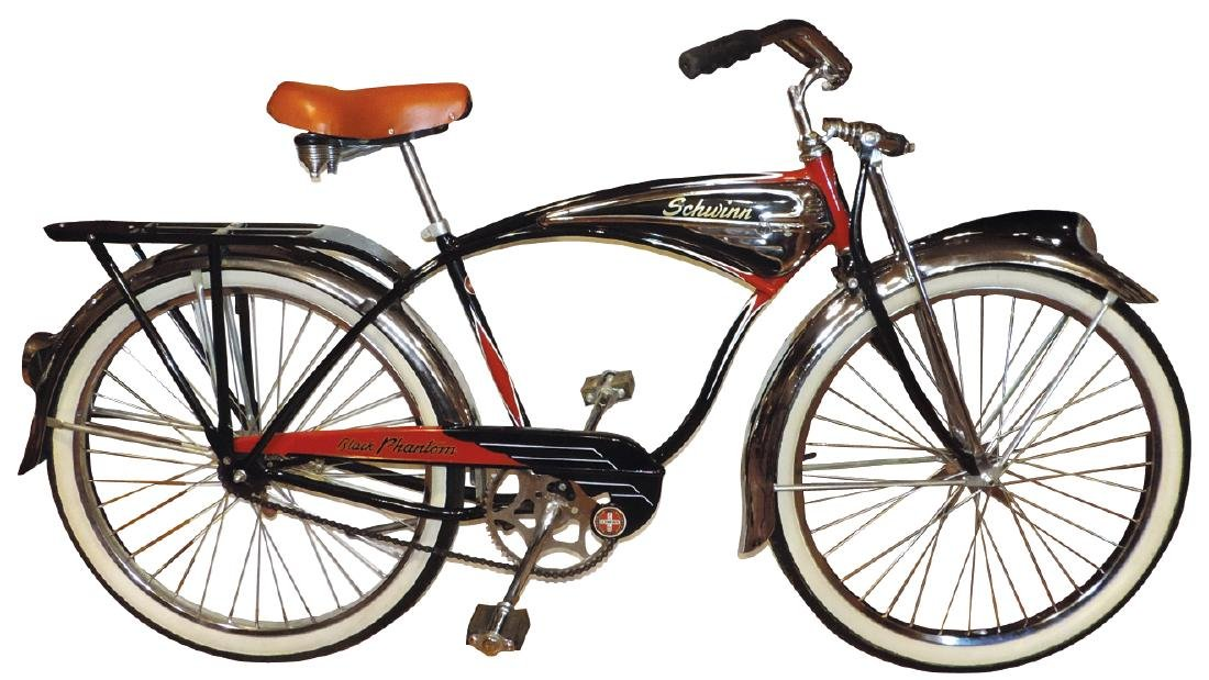 Bicycle, Schwinn Black Phantom, Serial No. F033271,