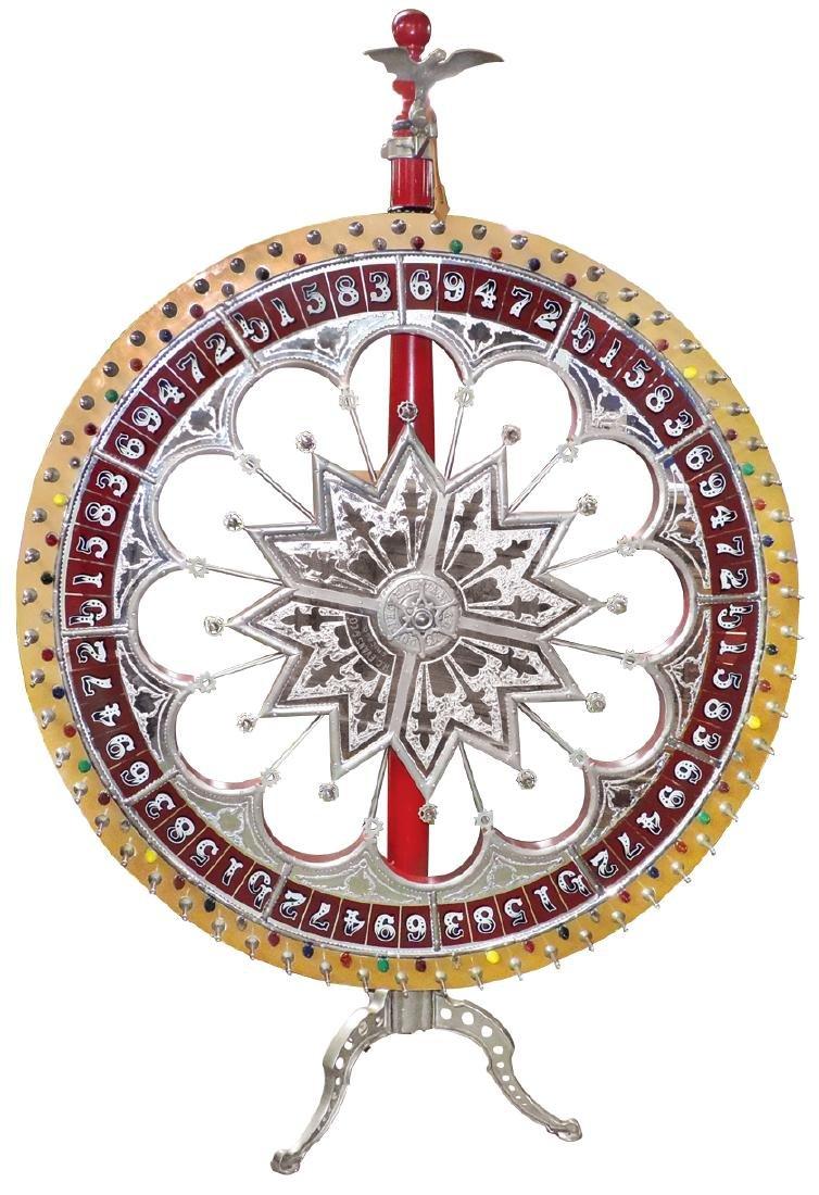 Gambling wheel, H. C. Evans Co.-Chicago, 2 light-up - 2