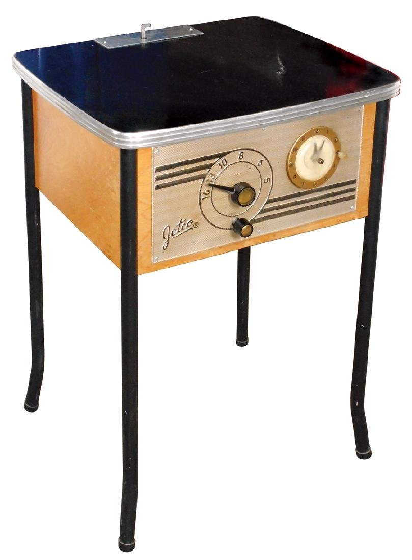 Coin-operated radio, Jetco, mfgd by Jet Sales