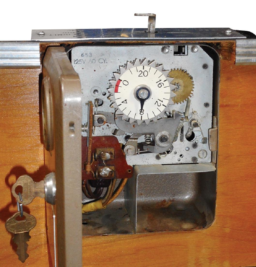 Coin-operated radio, Jetco, mfgd by Jet Sales - 2