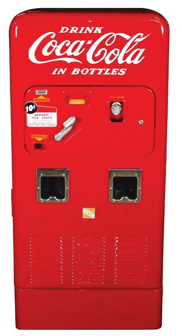 Coca-Cola machine, VMC 72, older restoration w/minor