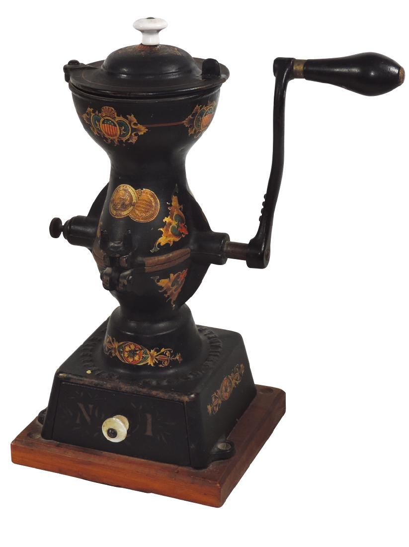 Country store coffee grinder, Enterprise Mfg Co. No. 1,
