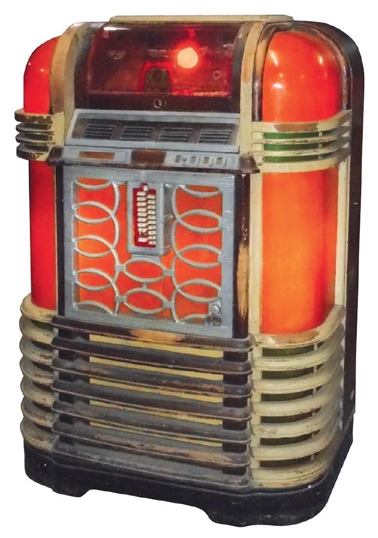 "Coin-operated jukebox, Rockola Luxury Lightup, in ""As - 2"