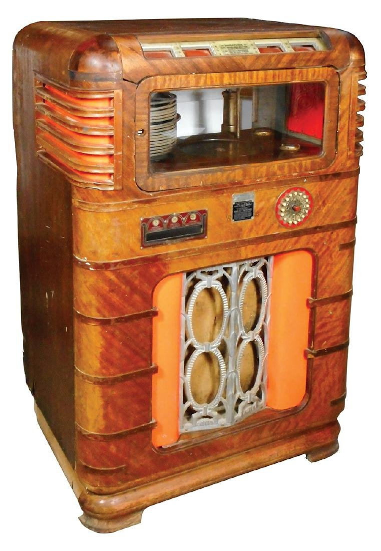 Coin-operated jukebox, Wurlitzer 616A, Rare version