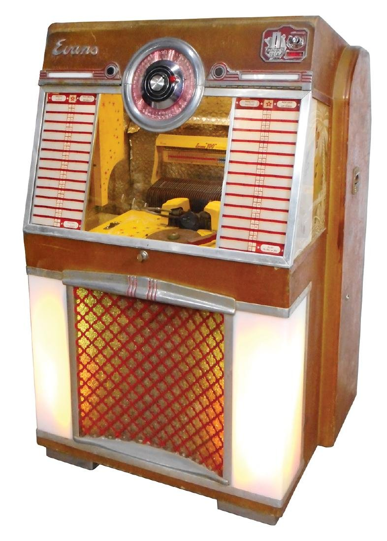 "Coin-operated jukebox, H.C. Evans ""Holiday"", Model 4045 - 2"
