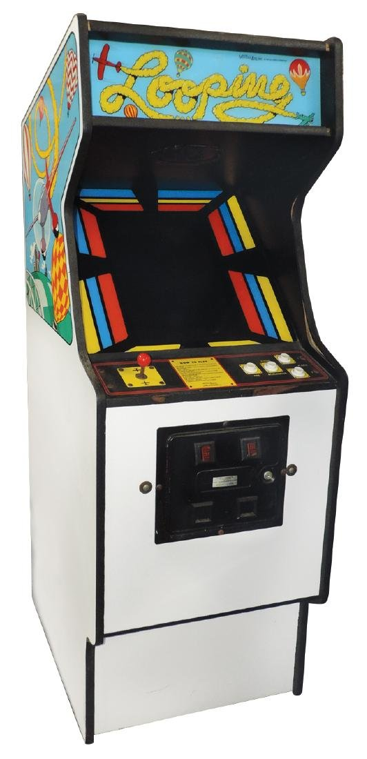 Coin-operated arcade game, Looping 25 Cent, by Venture