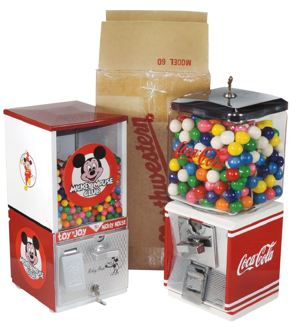 Coin-operated gum machines (2), Northwestern 60
