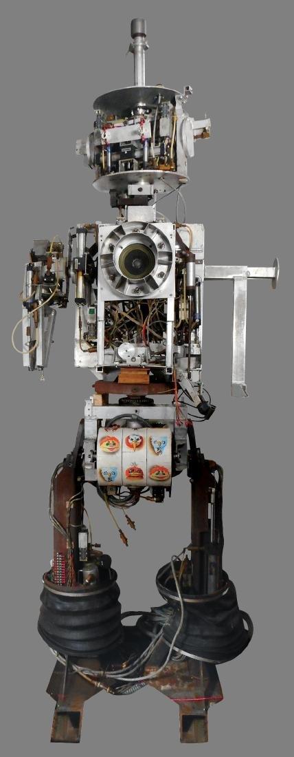 Amusement park robot, electro-mechanical multi function - 10