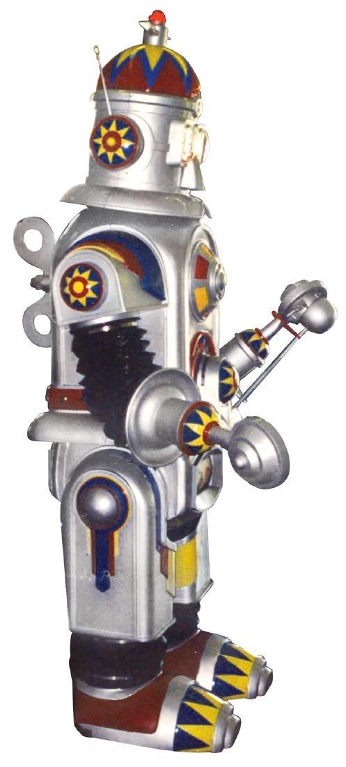 Amusement park robot, electro-mechanical multi function - 3