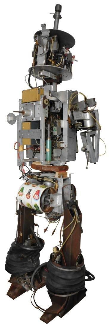 Amusement park robot, electro-mechanical multi function - 7
