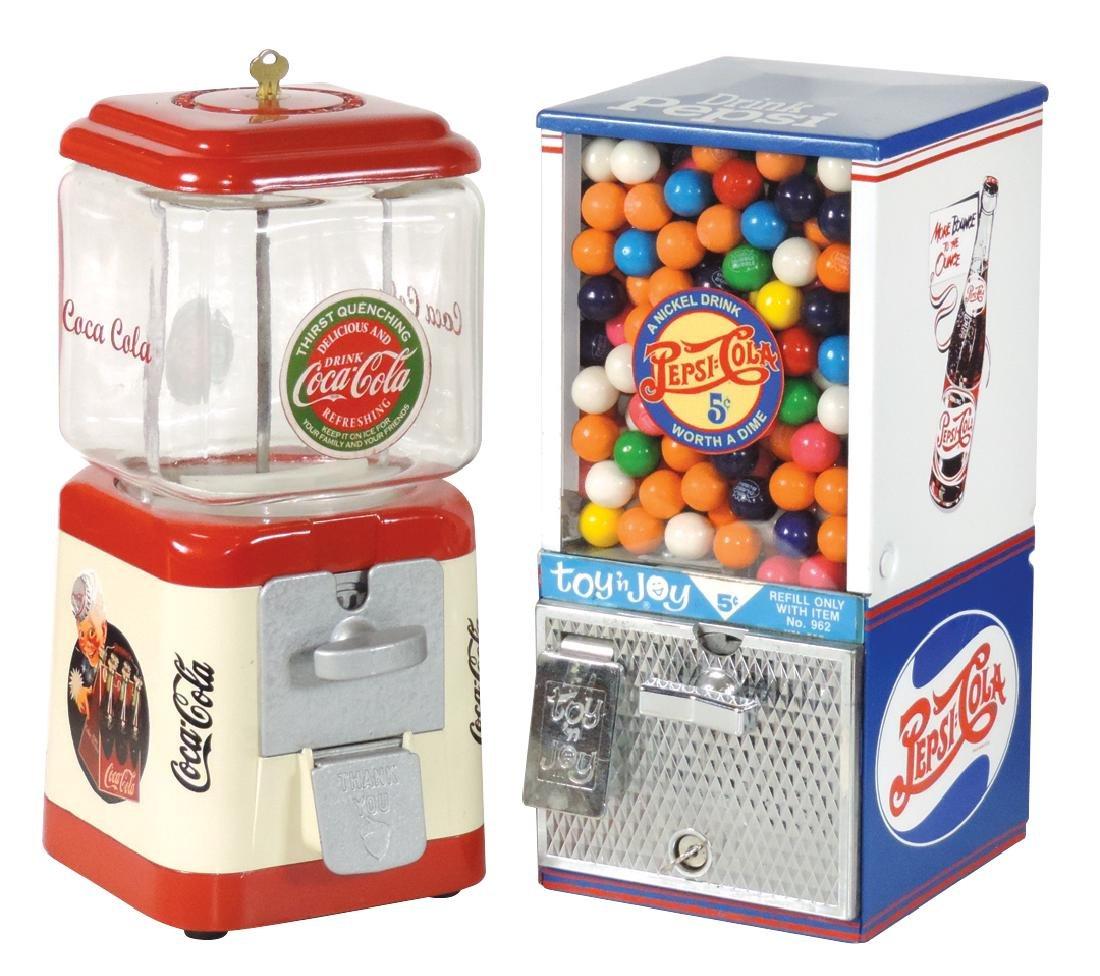 Coin-operated machines (2), Oak Mfg. Coca-Cola peanut