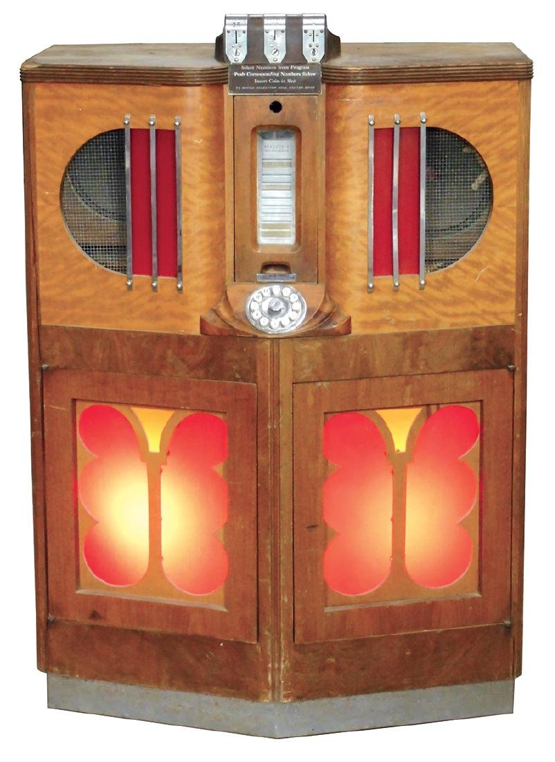 Coin-operated jukebox, Mills 5-10-25 Cent 12-selection