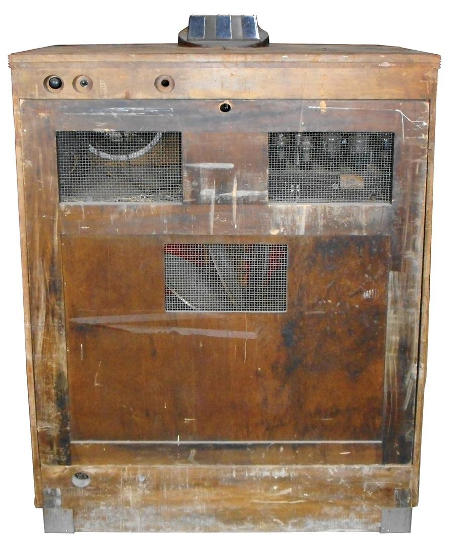 Coin-operated jukebox, Mills 5-10-25 Cent 12-selection - 3