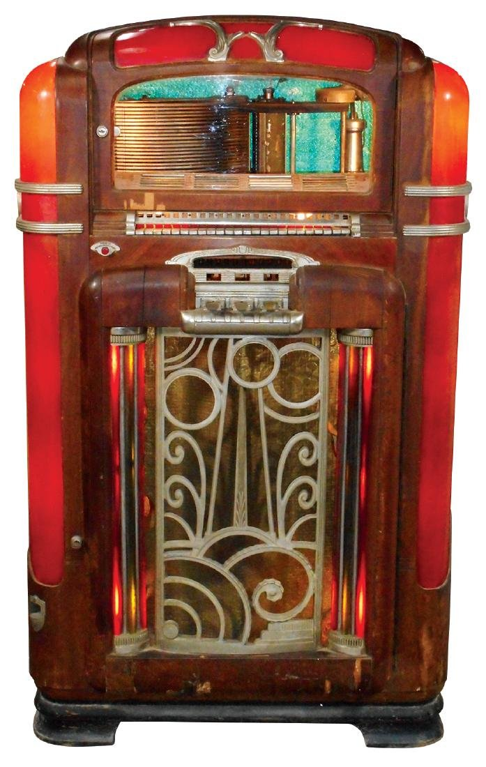 Coin-operated jukebox, Wurlitzer Model 700, 24