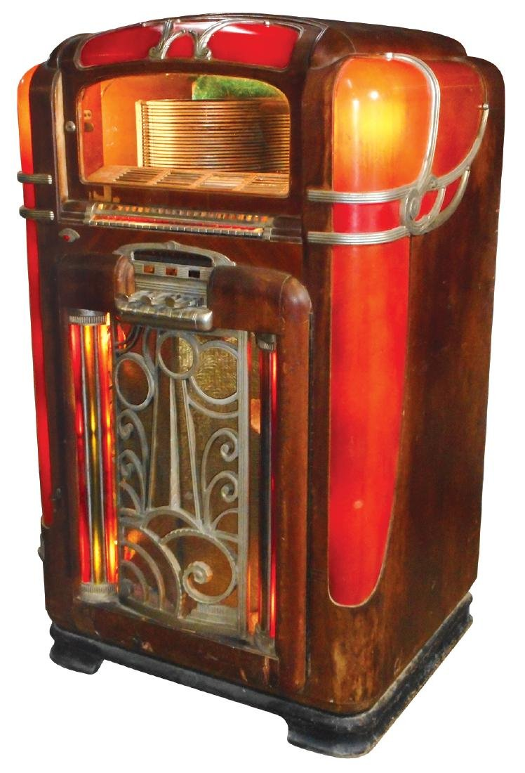 Coin-operated jukebox, Wurlitzer Model 700, 24 - 2