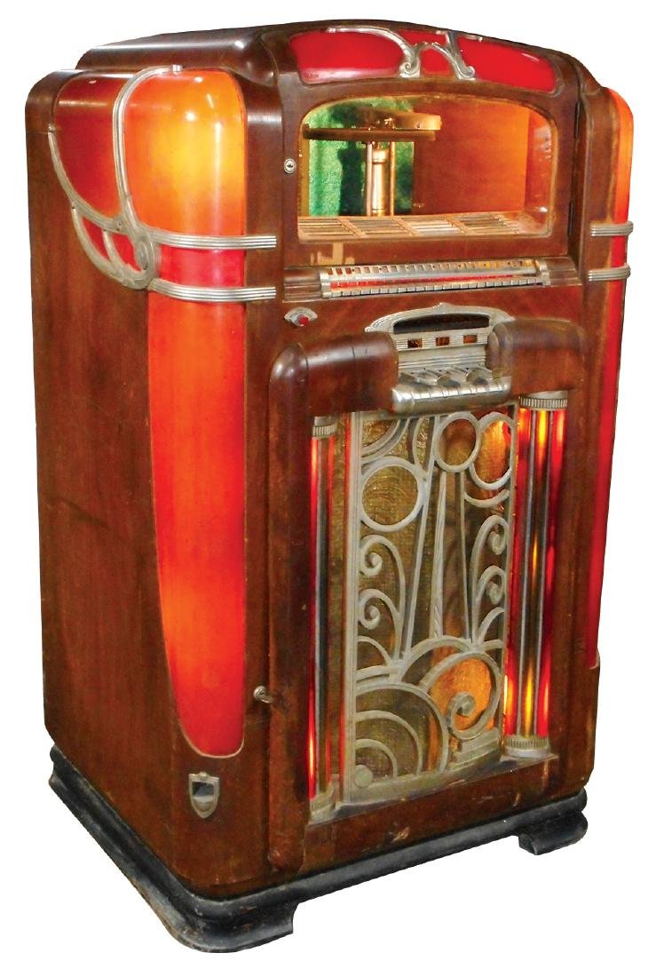 Coin-operated jukebox, Wurlitzer Model 700, 24 - 3