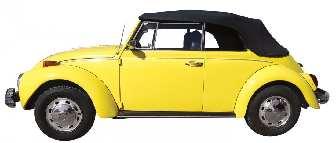 Automobile, 1972 Volkswagen convertible, new top &