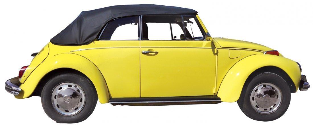 Automobile, 1972 Volkswagen convertible, new top & - 4
