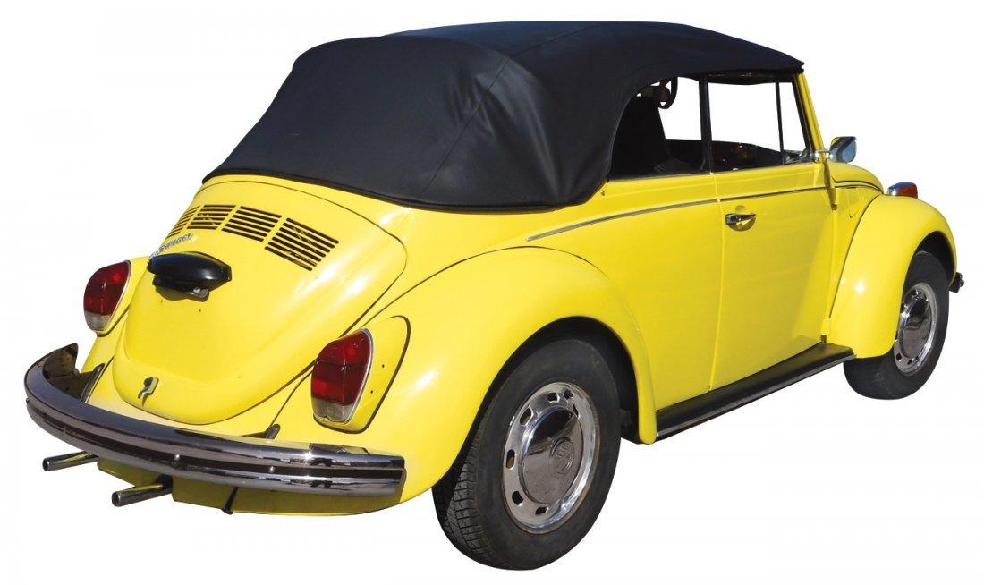 Automobile, 1972 Volkswagen convertible, new top & - 5