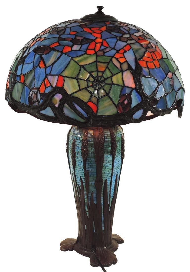 Lighting, Tiffany Spiderweb recreation, the best made o