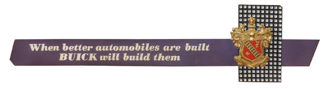 """Automobile dealership sign, Buick, """"when better"""