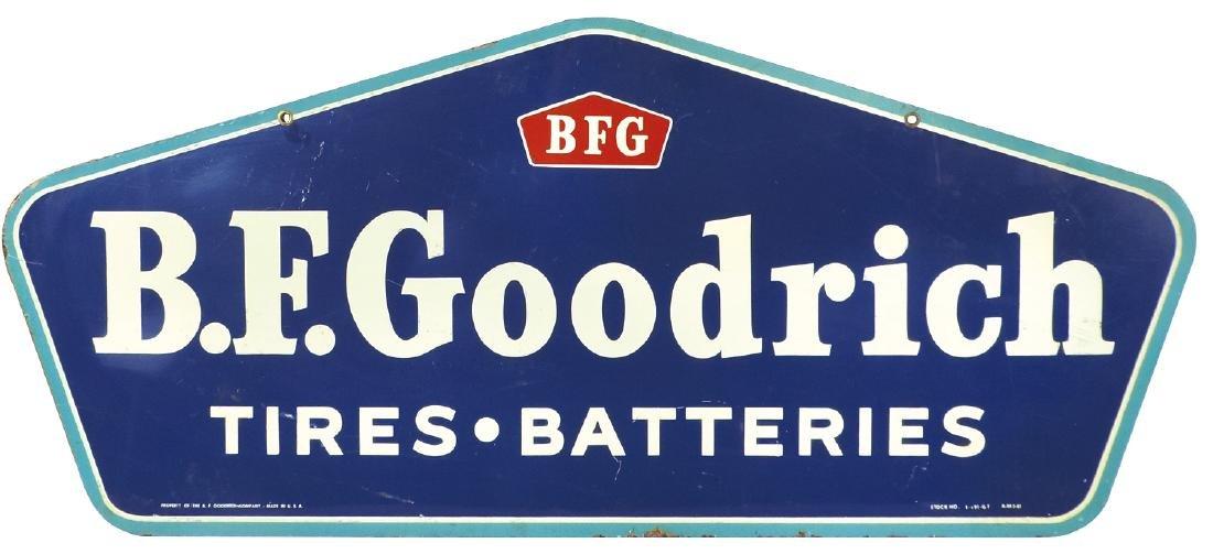 Automobile sign, B.F. Goodrich Tires & Batteries