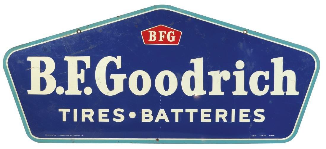 Automobile sign, B.F. Goodrich Tires & Batteries - 2
