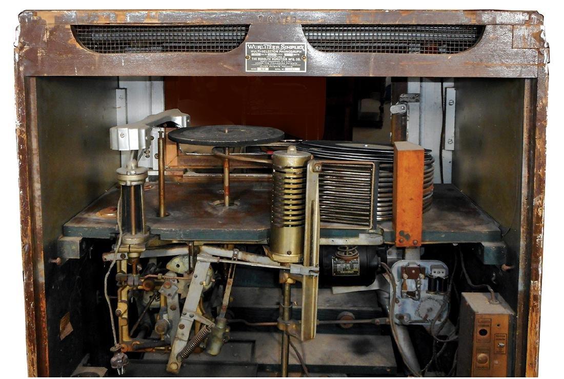 Coin-operated jukebox, Wurlitzer 412 w/aftermarket - 3