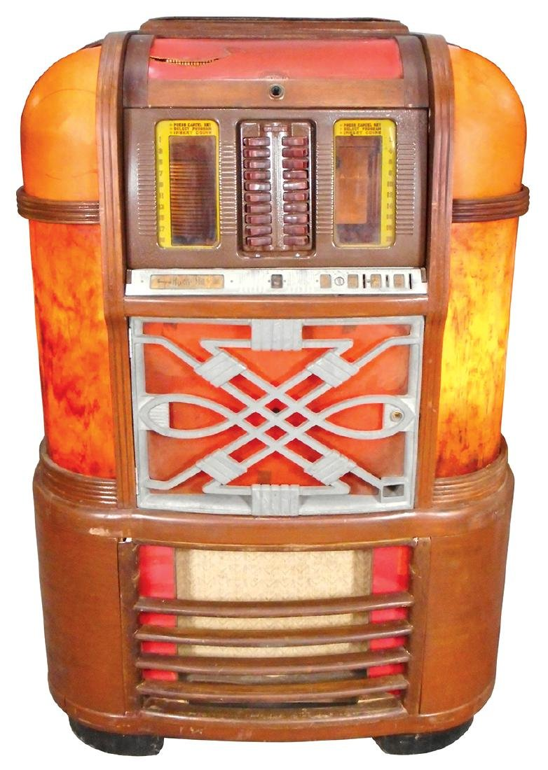 Coin-operated jukebox, Rockola Master, MAS-40, classic