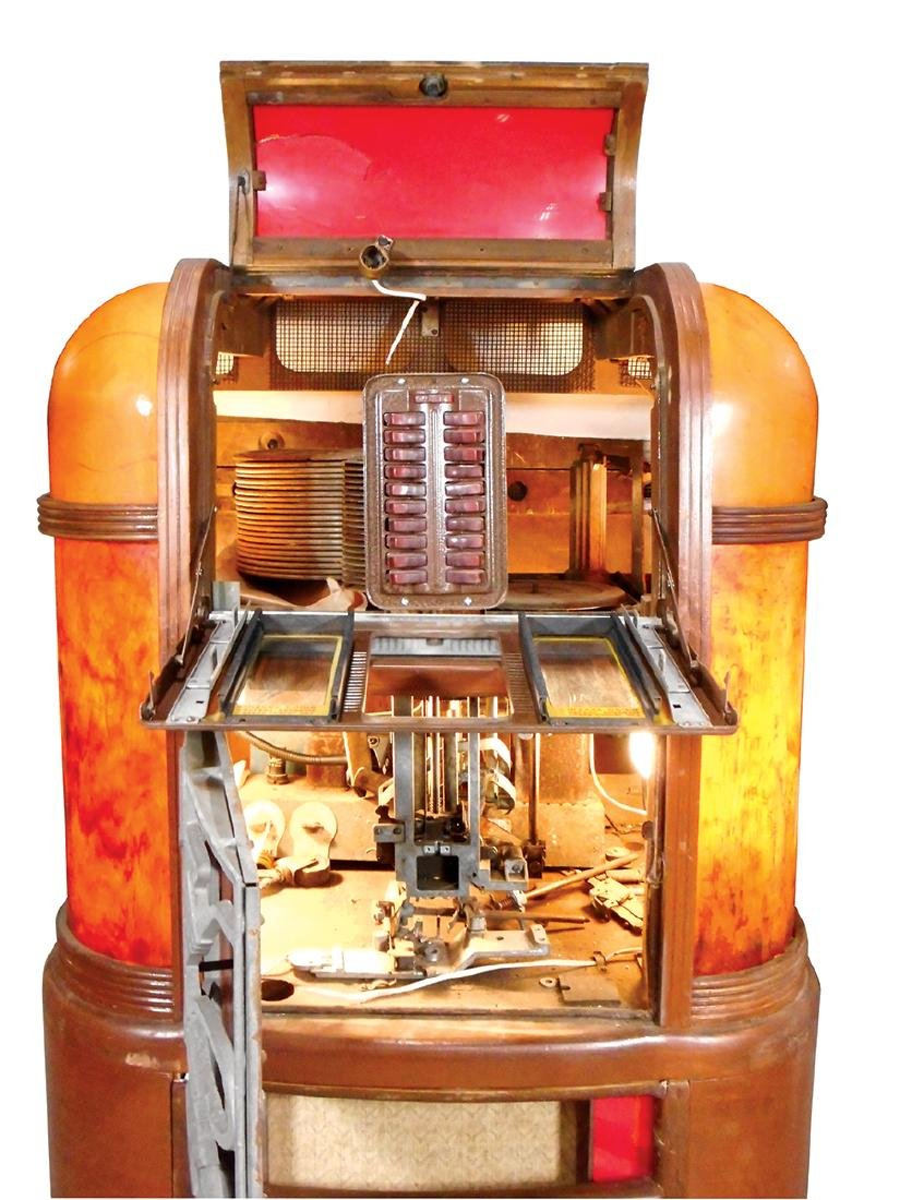 Coin-operated jukebox, Rockola Master, MAS-40, classic - 2