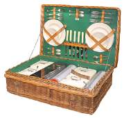 Picnic set, Abercrombie & Fitch-New York w/orig