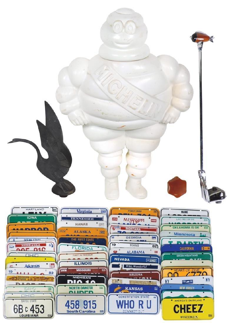 Automotive items (5), Michelin Man store display