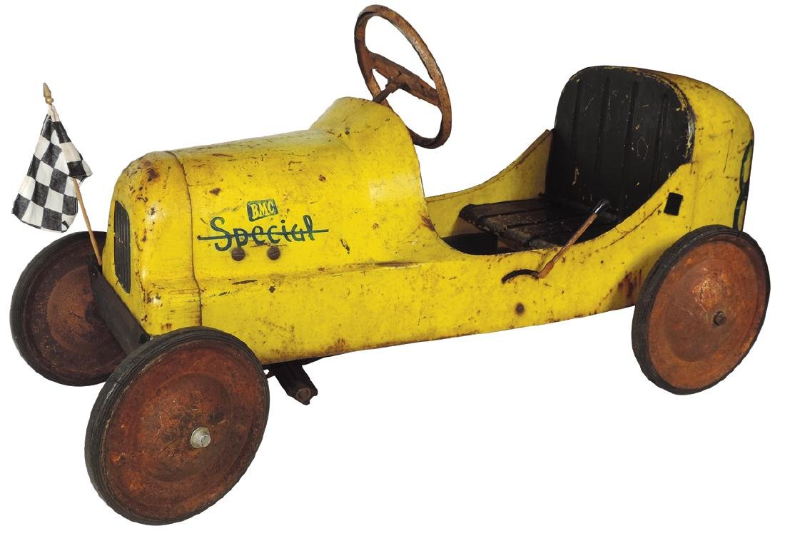 Children's pedal car, BMC Special 8 Racer, pressed