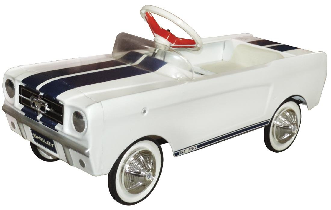 Children's pedal car, Ford G.T. 350 Shelby, Carroll