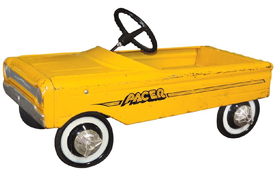 Children's pedal car, Pacer, AMF, pressed steel