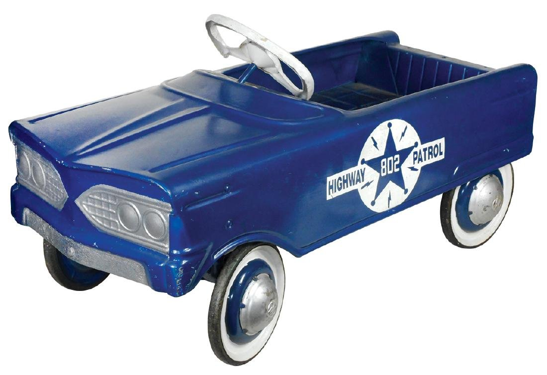Children's pedal car, Murray Highway Patrol #802,